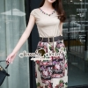 Seoul Secret Vintage Cream-Brown Chic Set