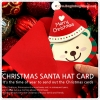 Christmas Santa Hat Card