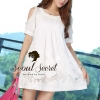 Seoul Secret Diamond Ivory Dress