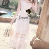 Seoul Secret Princess Chiffon WorkOut Maxi Dress