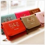 Mini Wallet กระเป๋าสตางค์ใบเล็ก พร้อมสายคล้องคอ