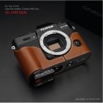 Gariz Leather Half-case for Fuji X-T10 : Camel