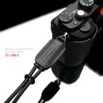 Gariz Leather Wrist Strap : XS-WBL9 (Grey)