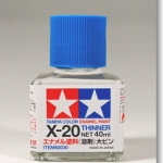 TA80030 X-20 THINNER 40ML (Enamel)