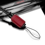 Gariz Leather Wrist Strap : XS-WS2 (Red)