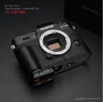 Gariz Leather Half-case for Fuji X-T10 : Black