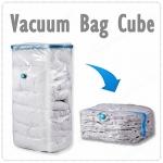 ถุงสูญญากาศ 3D ทรงลูกบาศก์ สำหรับ ผ้าห่ม ตุ๊กตา หมอน ที่นอน