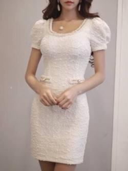 Marsh Mallow Luxury Chloe Dress