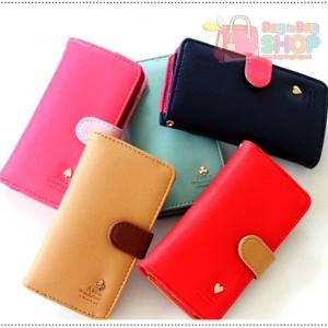 Chou Chou Multi Pouch กระเป๋าสตางค์ พร้อมเป็นเคสใส่โทรศัพท์มือถือ