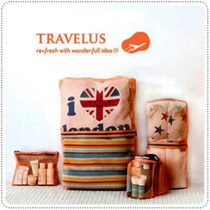 4-In-1 Travelus Pouch Set