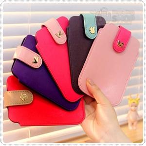 Two Strap Phone Case กระเป๋าใส่ IPhone แบบหนังเรียบ