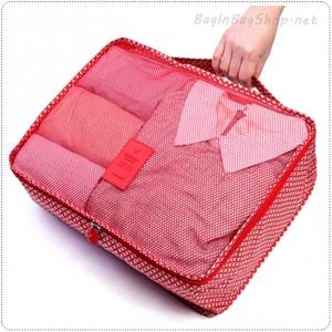 Pattern Clothes Pouch (L)