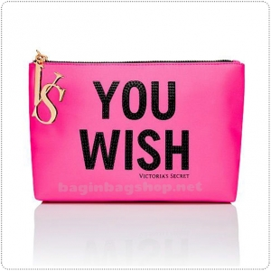 &#x2764️ Victoria's Secret Large Graphic Cosmetic Bag