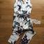 Lady Ribbon Tropical Summery Printed Jumpsuit thumbnail 5