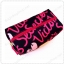 &#x2764️ VS Signature Print Hot Pink with Black Cosmetic Pouch thumbnail 7