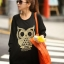 Cute Owl Tops เสื้อตัวยาวสีดำ แต่งเลื่อมรูปนกฮูก thumbnail 2