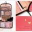 Travel Amenity Organizer Bag กระเป๋าใส่ของใช้พกพาแขวนสะดวก thumbnail 9