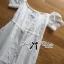 Lady Ribbon Maxi Dress เดรสเปิดไหล่ thumbnail 7