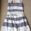 Lady Ribbon Stripe Mini Dress มินิเดรสลายขวางขาว-ดำ thumbnail 10