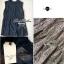 Lady Ribbon Lace Top เสื้อแขนกุดผ้าลูกไม้ สีขาว สีดำ thumbnail 12