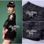 Lady Ribbon ชุดเซ็ทเสื้อเปิดไหล่ กางเกงตีเกล็ดสีดำ thumbnail 8