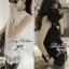 Lady Ribbon Lace Top เสื้อแขนกุดผ้าลูกไม้ สีขาว สีดำ thumbnail 7