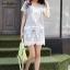 IceVanilla Owl 3D Lace Stitching Dress thumbnail 4
