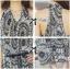Lady Ribbon Maxi Dress เดรสยาวแขนกุด ผ้าชีฟองพิมพ์ลายผสม thumbnail 7