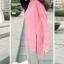 เสื้อยืดตัวยาว สีชมพูหวาน แต่งซิปด้านข้าง ชายเสื้อด้านหน้าสั้น ด้านหลังยาว thumbnail 4