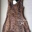 Lady Ribbon Leopard Print Mini Dress มินิเดรสแขนกุด พิมพ์ลายเสือดาว thumbnail 10