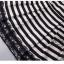 IceVanilla Fall Striped Stitch Lace Dress thumbnail 7