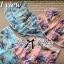 Lady Ribbon ชุดเซ็ทเสื้อเปิดไหล่และกางเกงเอวสูง สีชมพู สีฟ้า thumbnail 9