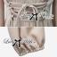 Lady Ribbon Sexy Nude Maxi Dress เดรสยาว ผูกโบว์ใต้อก thumbnail 8