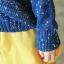 MisSweet เสื้อไหมพรม สีน้ำเงิน ถักลายลูกเป็ด สุดฮอต thumbnail 7