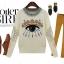 Cherry Dress Sweater สีเบจ ผ้าไหมพรมเนื้อดี ปักแปะลายด้านหน้า และแขนเสื้อ thumbnail 1