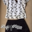 Lady Ribbon Set ชุดเซ็ตเสื้อพิมพ์ลายและกางเกงขาสั้นสไตล์สบายๆ thumbnail 6