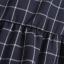 เดรสลายตาราง สีกรมท่า แต่งระบายผ้าชีฟองอัดพลีทที่แขน thumbnail 7