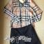 Lady Ribbon Plaid Shirt and Shorts Set thumbnail 11