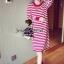 Seoul Secret Korea Chicly Stripe Maxi Knit thumbnail 9