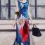 Seoul Secret Silky DKNY Maxi Dress thumbnail 5