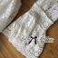 Lady Ribbon Classy Smocked Lace Dress thumbnail 9