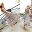 Lady Ribbon Floral Maxi Dress แมกซี่ชีฟองพิมพ์ลายลูกไม้ thumbnail 3