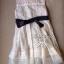 Lady Ribbon Floral Lace Dress เดรสลูกไม้ ดีเทลชายผ้าแก้ว thumbnail 8