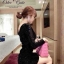Sparkling Black Dress เดรสสีดำ ปักเลื่อม สุดไฮโซ thumbnail 3