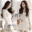 Lady Ribbon Smart Casual Wrap Suit Dress thumbnail 5