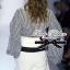 Lady Ribbon ชุดเซ็ตเสื้อลายทางกับกางเกงขาสั้นเอวสูง thumbnail 3