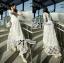 Lady Ribbon Dress เดรสผ้าลูกไม้สไตล์คลาสสิควินเทจ thumbnail 2