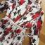 Lady Ribbon Dress เดรสลายดอกกุหลาบ thumbnail 6