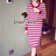 Seoul Secret Korea Chicly Stripe Maxi Knit thumbnail 6