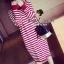 Seoul Secret Korea Chicly Stripe Maxi Knit thumbnail 8